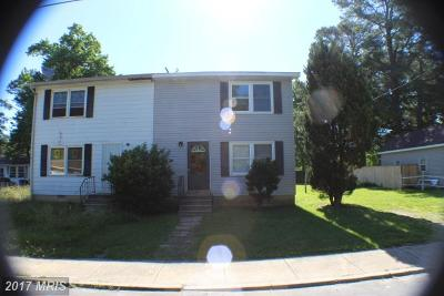 Lexington Park MD Duplex For Sale: $74,900