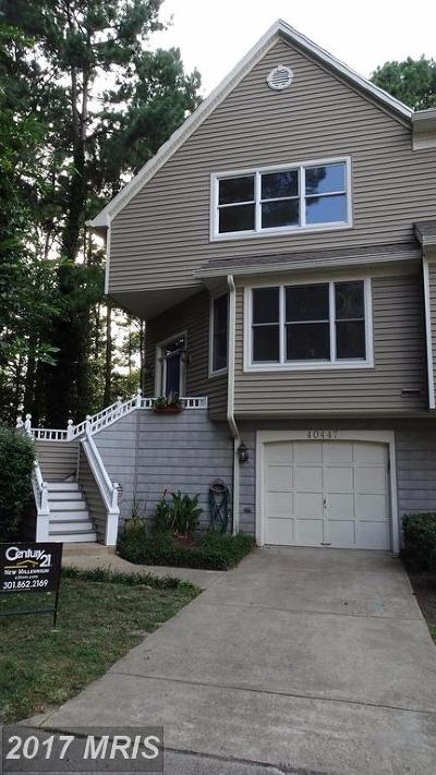 Leonardtown Townhouse For Sale: 40447 Breton View Drive