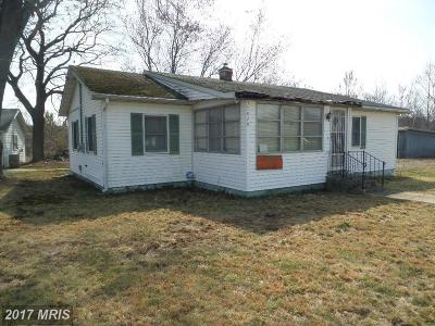 Avenue MD Single Family Home For Sale: $75,500