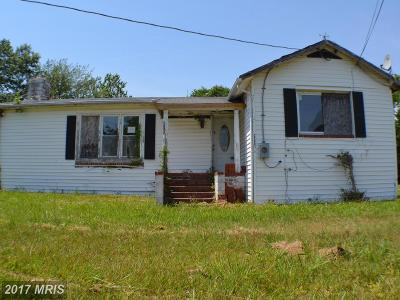 Maddox MD Single Family Home For Sale: $59,900