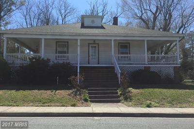Princess Anne Single Family Home For Sale: 30391 Manokin Avenue