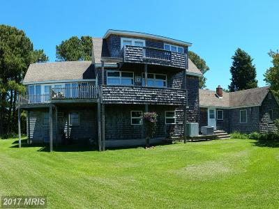 Deal Island Single Family Home For Sale: 9088 Deal Island Road