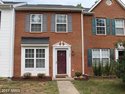 Fredericksburg Townhouse For Sale: 9625 Coventry Creek Drive