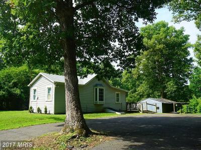 Fredericksburg Single Family Home For Sale: 8622 Old Plank Road