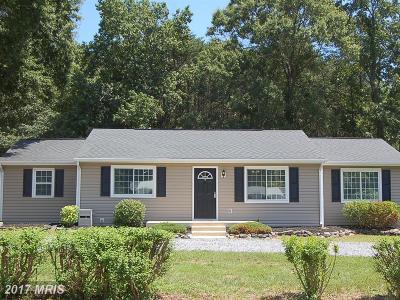 Fredericksburg Single Family Home For Sale: 9897 Wildwood Court