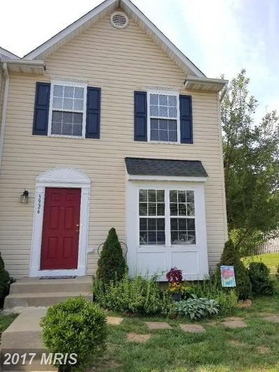 Fredericksburg Townhouse For Sale: 3926 Saint Michaels Square