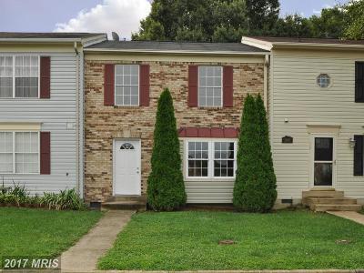 Fredericksburg Townhouse For Sale: 10806 Coreys Way