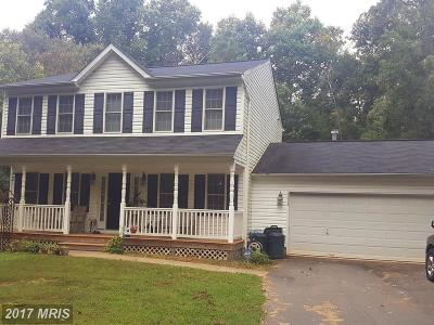 Spotsylvania Single Family Home For Sale: 6316 Hams Ford Road
