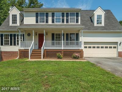 Fredericksburg Single Family Home For Sale: 7509 Regency Glen Drive
