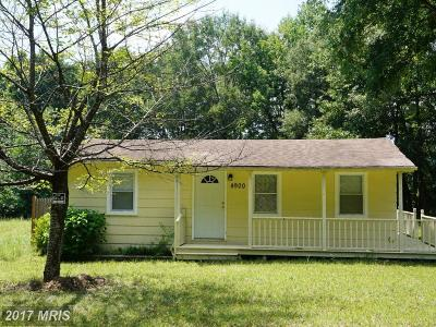 Spotsylvania Single Family Home For Sale: 4900 Blaydes Corner Road