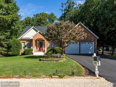 Fredericksburg Single Family Home For Sale: 4205 Mount Vernon Place