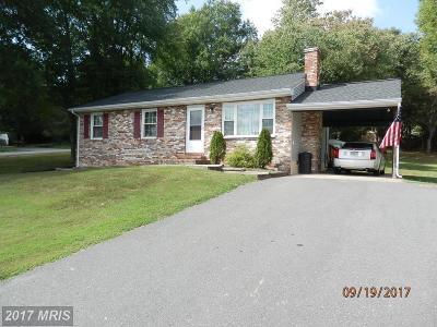 Fredericksburg VA Single Family Home For Sale: $197,500