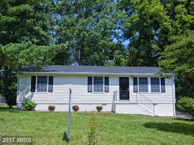 Fredericksburg VA Single Family Home For Sale: $210,000