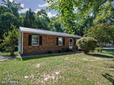 Fredericksburg VA Single Family Home For Sale: $231,200