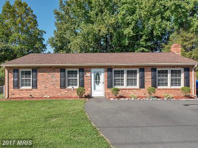 Fredericksburg Single Family Home For Sale: 11210 Old Leavells Road