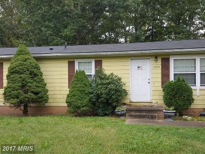 Fredericksburg Single Family Home For Sale: 10908 Deer Drive