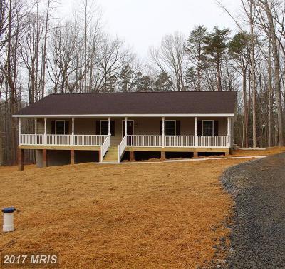 Spotsylvania Single Family Home For Sale: 238 Horseshoe Drive