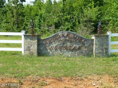 Spotsylvania Residential Lots & Land For Sale: Brooke Ridge Lane