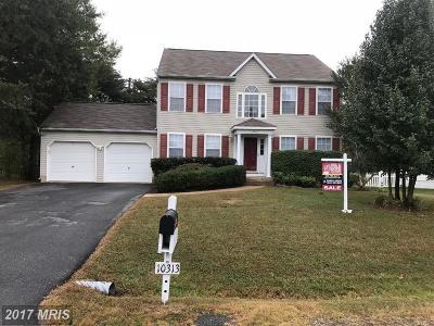 Fredericksburg Single Family Home For Sale: 10313 Hampton Lane