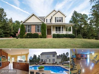 Spotsylvania Single Family Home For Sale: 11916 Deer Path Lane