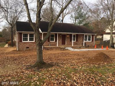 Fredericksburg Single Family Home For Sale: 2001 Coleman Lane