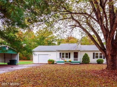 Spotsylvania Single Family Home For Sale: 9920 Craigs Church Lane