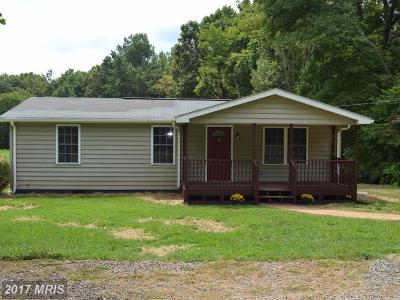 Spotsylvania Single Family Home For Sale: 10744 Robert E Lee Drive