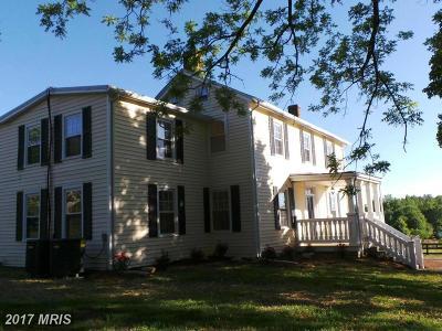 Spotsylvania Single Family Home For Sale: 10639 Gordon Road