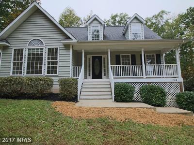 Spotsylvania Single Family Home For Sale: 11002 Bayonet Circle