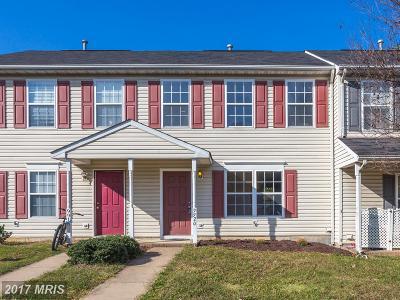 Fredericksburg Townhouse For Sale: 9920 Matti Hill Court