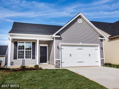 Fredericksburg VA Single Family Home For Sale: $373,700