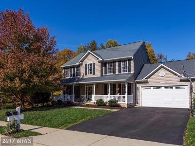Fredericksburg Single Family Home For Sale: 11009 Copeland Court