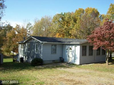 Fredericksburg Single Family Home For Sale: 14736 Rapidan Road