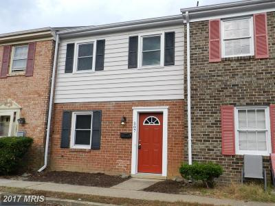 Fredericksburg Townhouse For Sale: 507 Olde Greenwich Circle