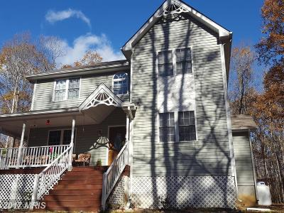 Spotsylvania VA Single Family Home For Sale: $289,500