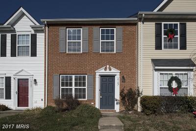 Fredericksburg Townhouse For Sale: 4107 Englandtown Road