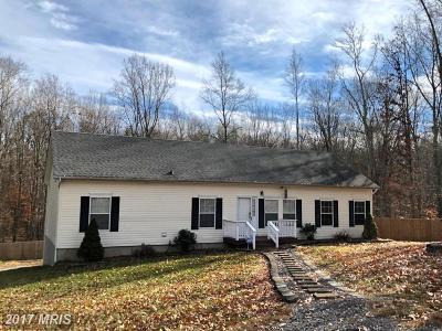 Fredericksburg VA Single Family Home For Sale: $277,000