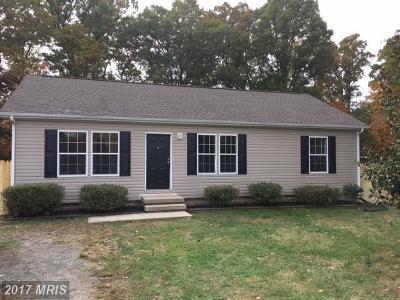 Fredericksburg VA Single Family Home For Sale: $209,900
