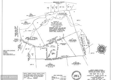 Spotsylvania Residential Lots & Land For Sale: Towles Mill Road