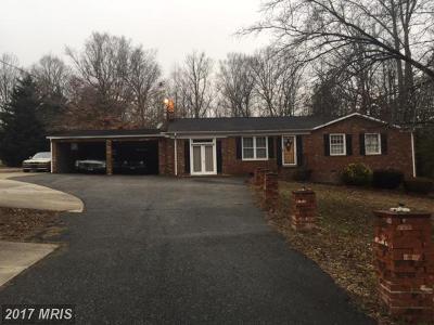 Fredericksburg Single Family Home For Sale: 9702 Leavells Road