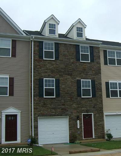 Fredericksburg Townhouse For Sale: 2217 Mallard Landing Drive