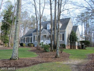 Spotsylvania Single Family Home For Sale: 11319 Stonewall Jackson Drive