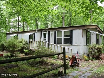 Spotsylvania Single Family Home For Sale: 822 Gunnery Hill Road