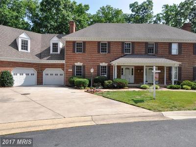 Fredericksburg Townhouse For Sale: 10025 Altamont Circle