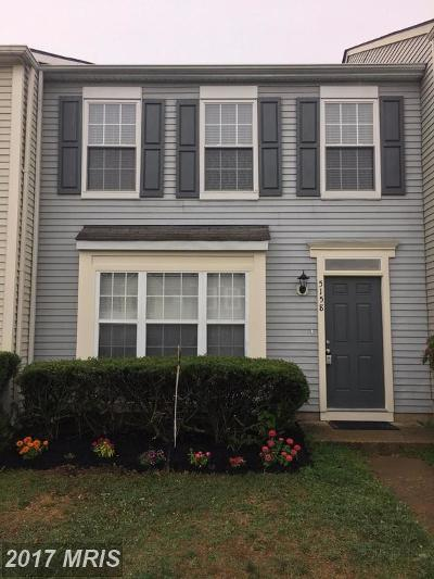 Fredericksburg Townhouse For Sale: 5158 Bellehaven Court