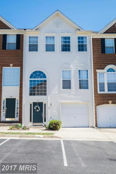 Stafford Townhouse For Sale: 110 Blossom Lane
