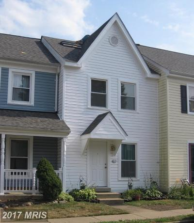 Stafford Townhouse For Sale: 611 Madison Court