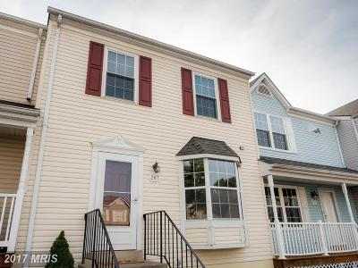 Stafford Townhouse For Sale: 207 Westminster Lane