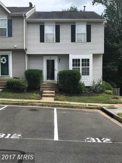 Stafford Townhouse For Sale: 312 Kings Crest Drive