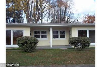 Fredericksburg Rental For Rent: 315 Burnside Avenue #A